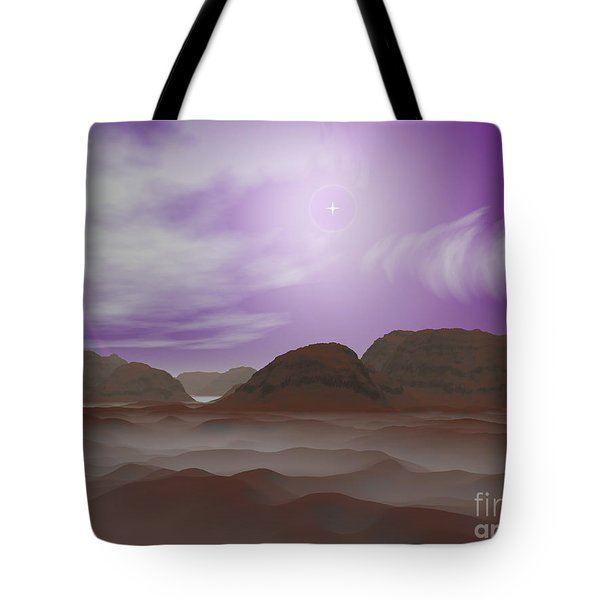 Artists Concept Of The Atmosphere Tote Bag by Walter Myers