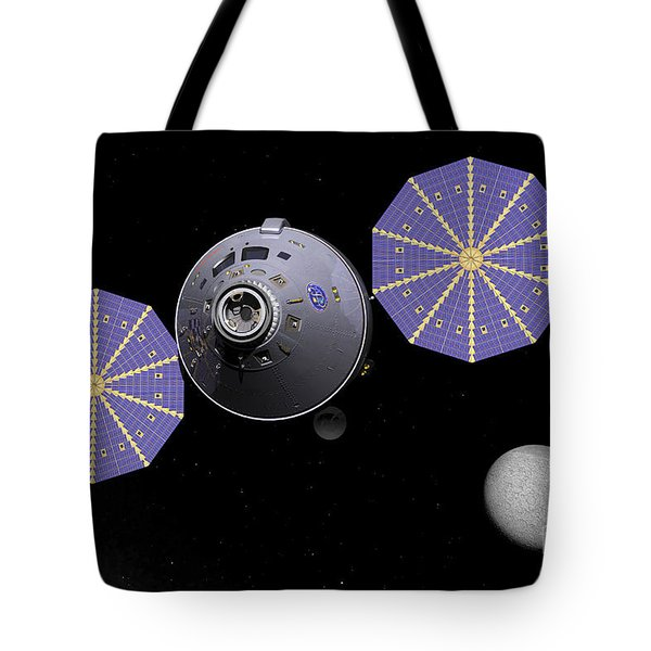 Artists Concept Of The Next Generation Tote Bag by Walter Myers