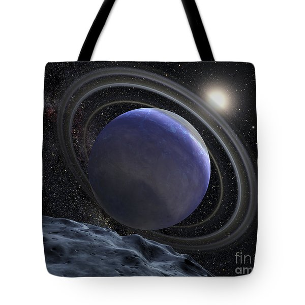 Artists Illustration Of An Extrasolar Tote Bag by Stocktrek Images