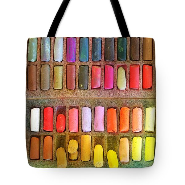 Artists Rainbow Tote Bag by Francesa Miller