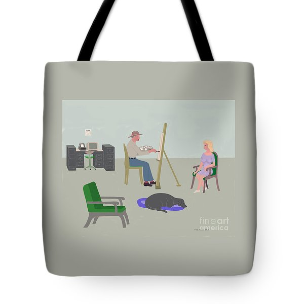 Artists Studio Tote Bag by Fred Jinkins