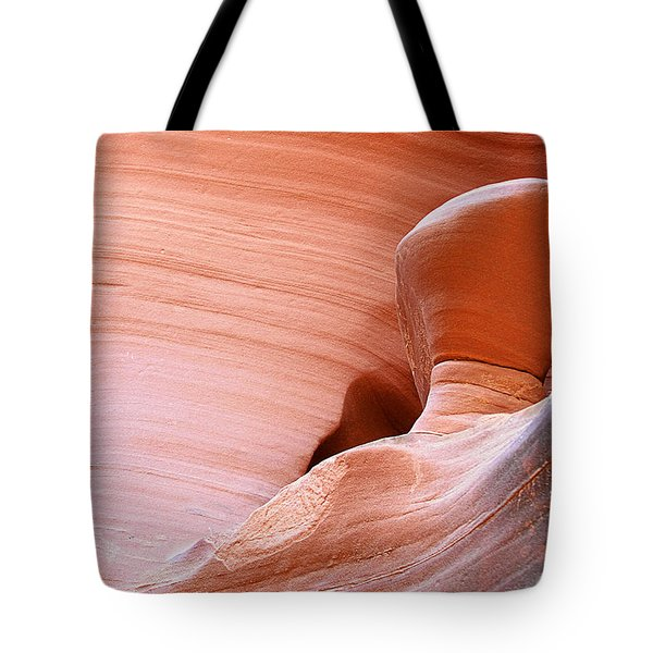 Artwork In Progress - Antelope Canyon Az Tote Bag by Christine Till