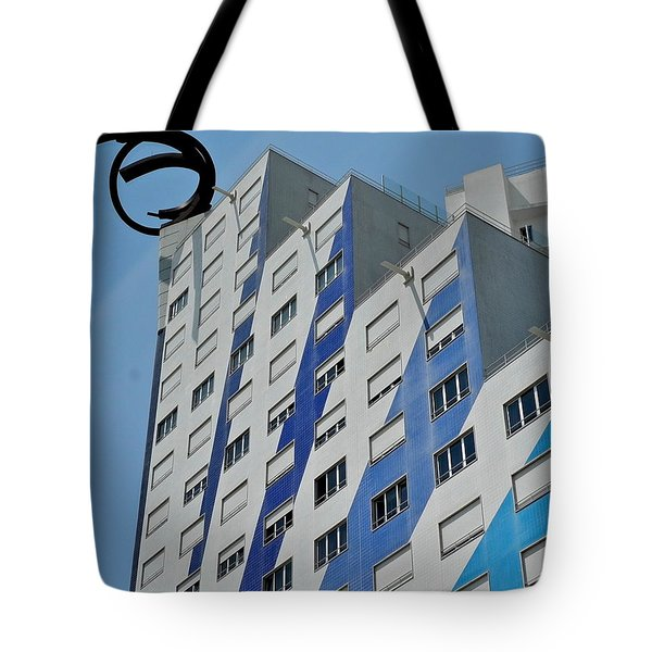 Artwork On The Vertical Tote Bag by Kirsten Giving