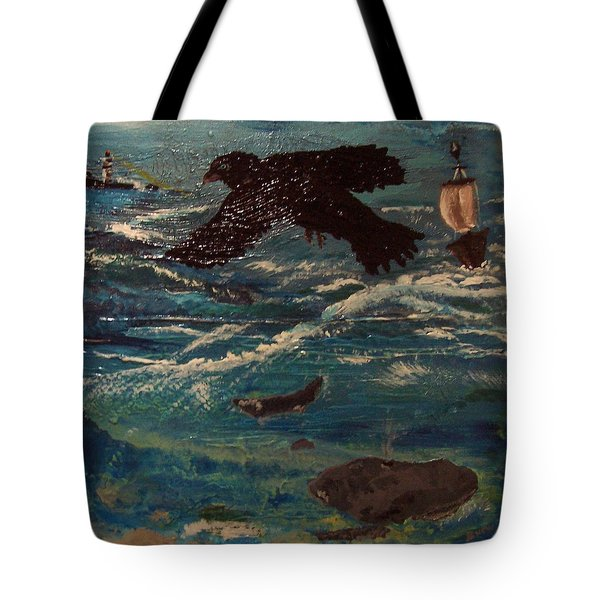 As The Crow Flys Tote Bag