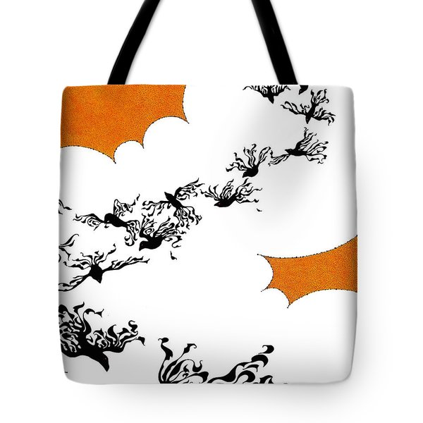 As The Crows Fly Tote Bag