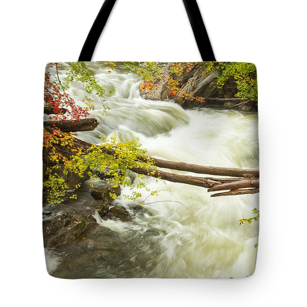 As The River Flows Tote Bag by Karol Livote