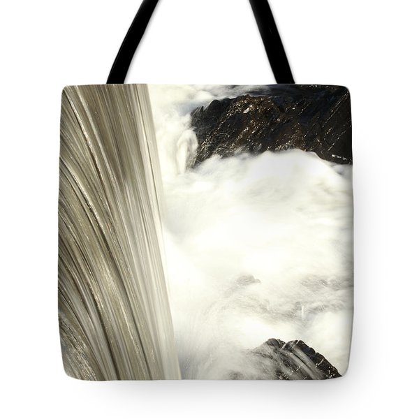 As The Water Falls Tote Bag by Karol Livote