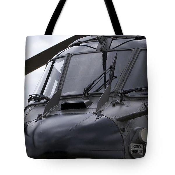 As532 Cougar Of Switzerland Air Force Tote Bag by Ramon Van Opdorp