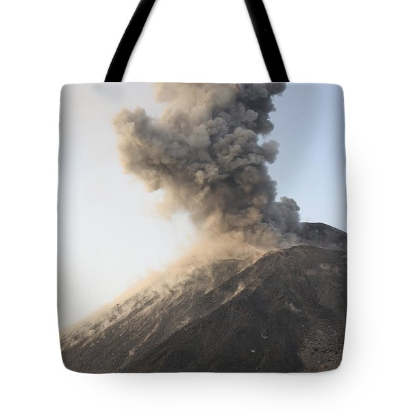 Ash Cloud From Vulcanian Eruption Tote Bag by Richard Roscoe