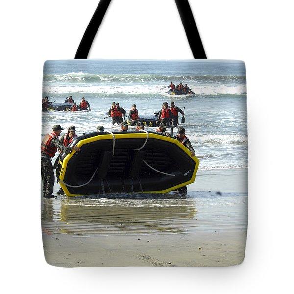 Asic Underwater Demolitionseal Students Tote Bag by Stocktrek Images