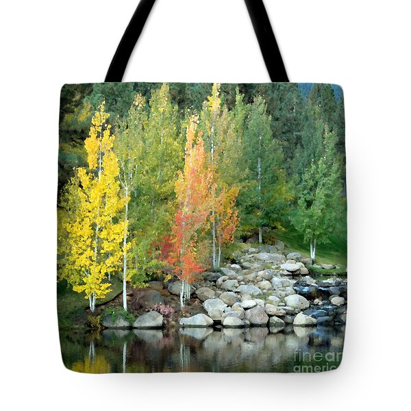 Aspen At Montreux Tote Bag
