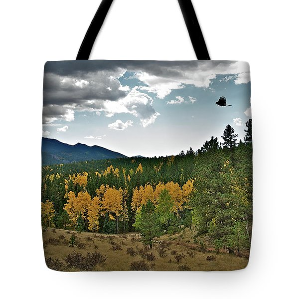 Aspen Flight Tote Bag by Stephen  Johnson