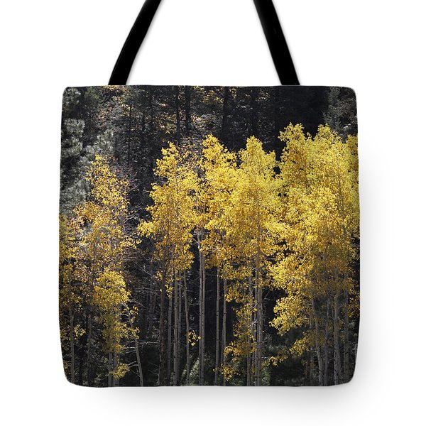 Aspen Gold Tote Bag