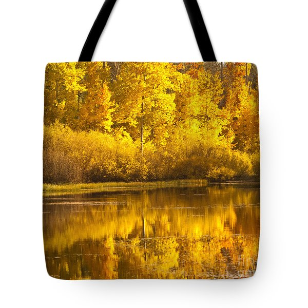 Aspen Pond Tote Bag