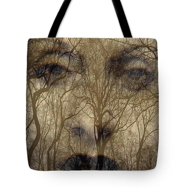Asphalt - Portrait Of A Lady 2 Tote Bag