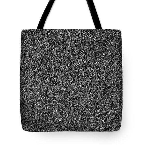 Asphalt Road Background Tote Bag