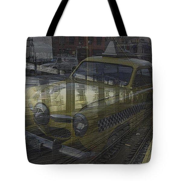 Asphalt Series - 8 Tote Bag