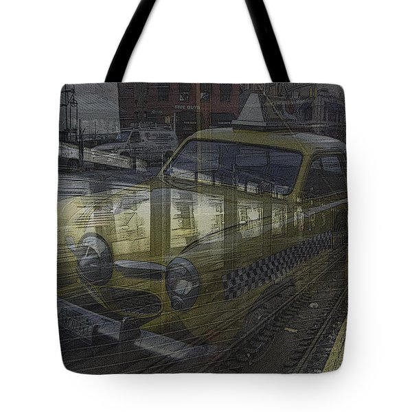 Asphalt Series - 8 Tote Bag