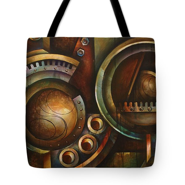'assembly Required' Tote Bag by Michael Lang