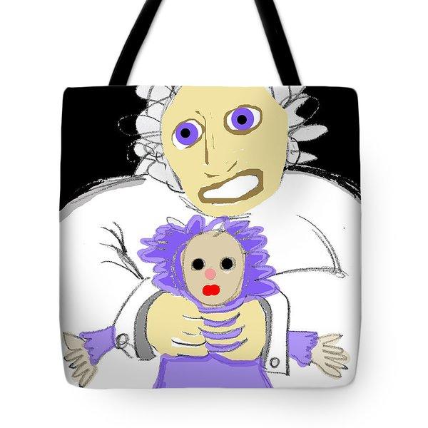 Asylum 3 Tote Bag