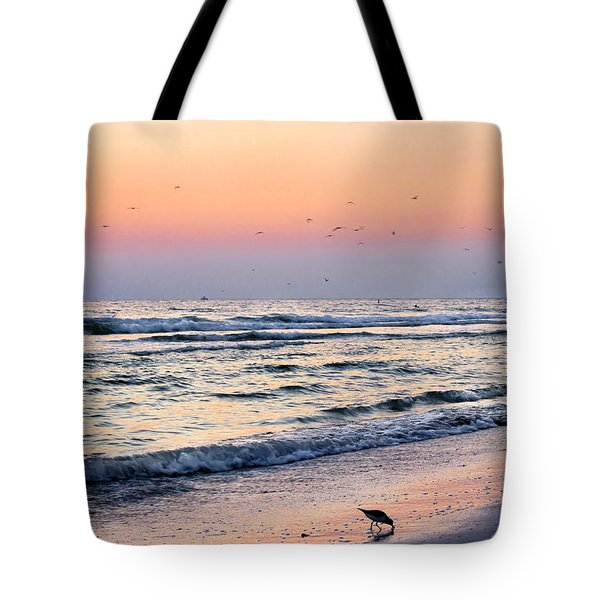 At Sunset Tote Bag by Angela Rath