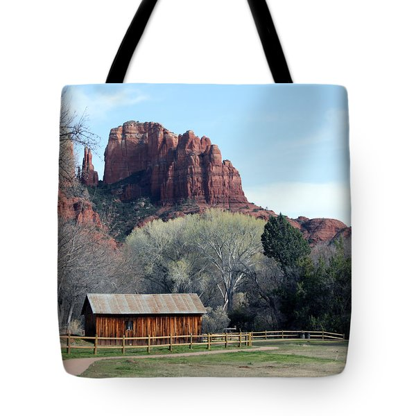 At The Base Tote Bag