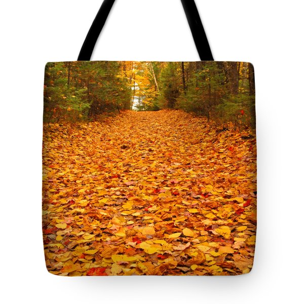 At The End Of The Road Tote Bag