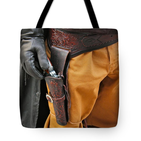 Tote Bag featuring the photograph At The Ready by Bill Owen