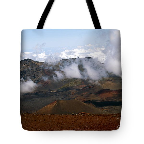 At The Rim Of The Crater Tote Bag