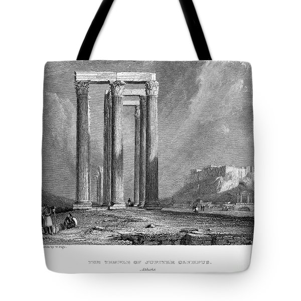 Athens: Olympian Zeus Tote Bag by Granger