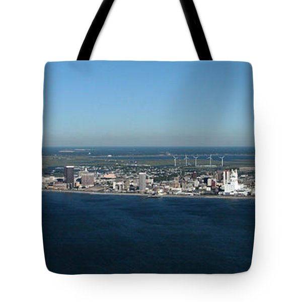 Atlantic City Skyline Panoramic Tote Bag
