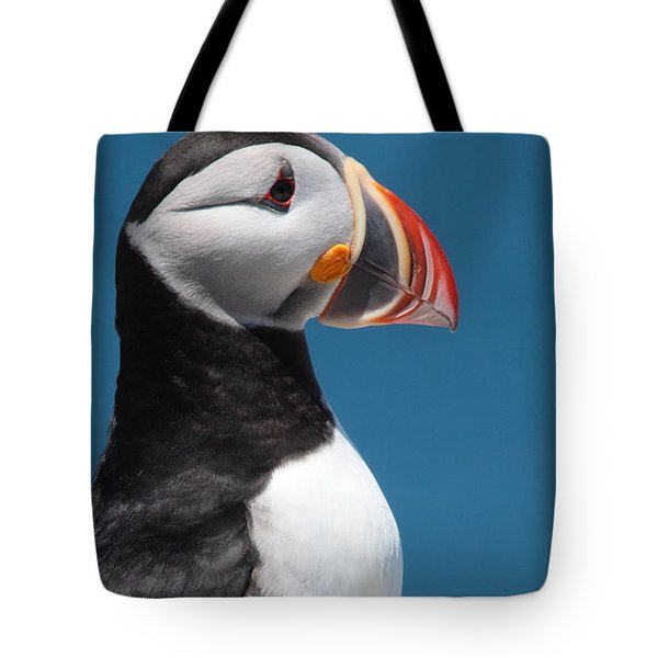 Atlantic Puffin Tote Bag by Bruce J Robinson