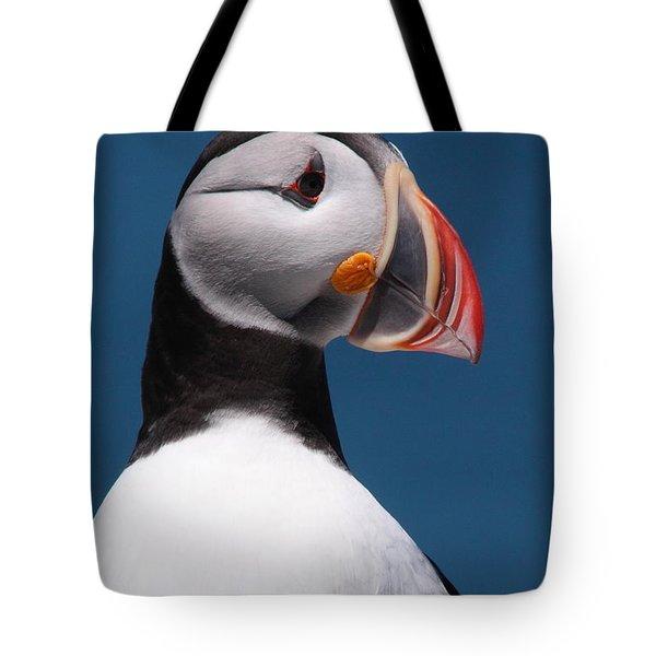 Atlantic Puffin II Tote Bag by Bruce J Robinson