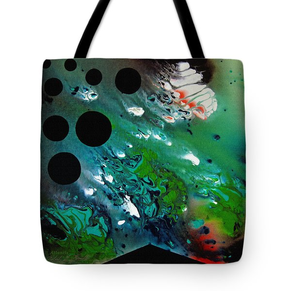 Atlantis Tote Bag by Robert G Kernodle