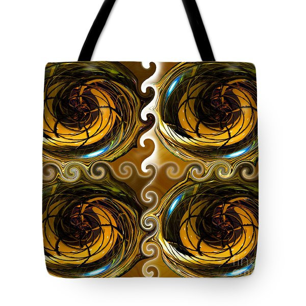 Atlantis The Lost Works Number One Tote Bag by David Lee Thompson