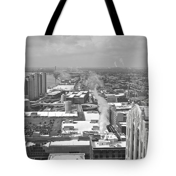 Atop The Guardian  Tote Bag by Michael Peychich