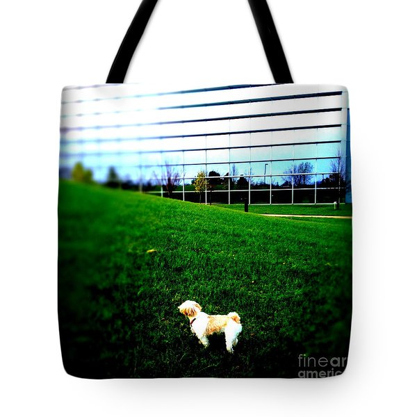Tote Bag featuring the photograph Atsuko Goes To School by Xn Tyler