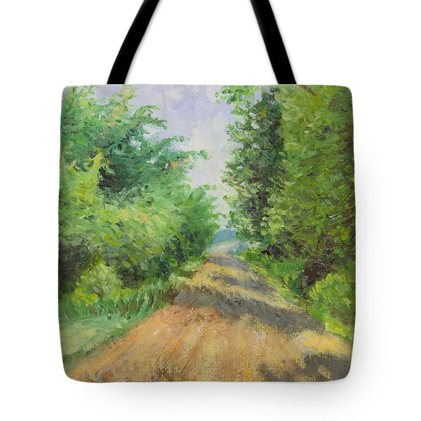 August Lane Tote Bag