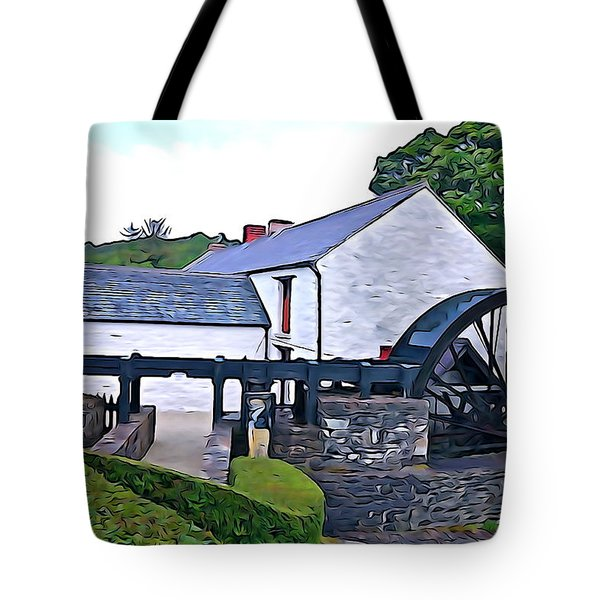 Tote Bag featuring the photograph Auld Mill  by Charlie and Norma Brock