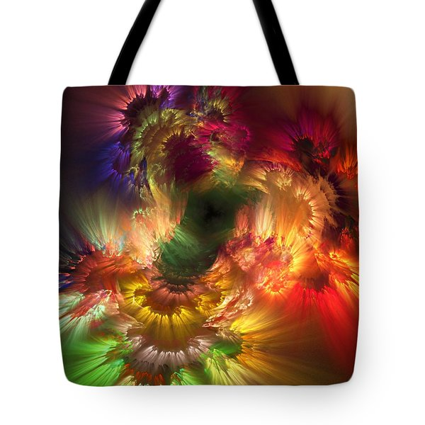 Auras Emotional Reflections Tote Bag