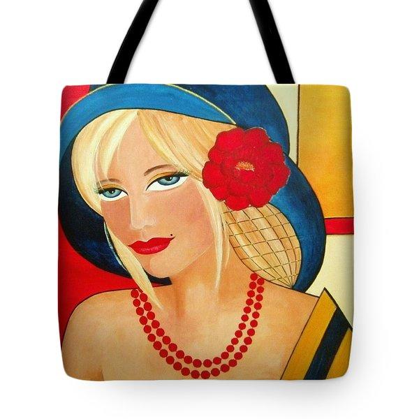 Aurora Tote Bag by Camelia Apostol