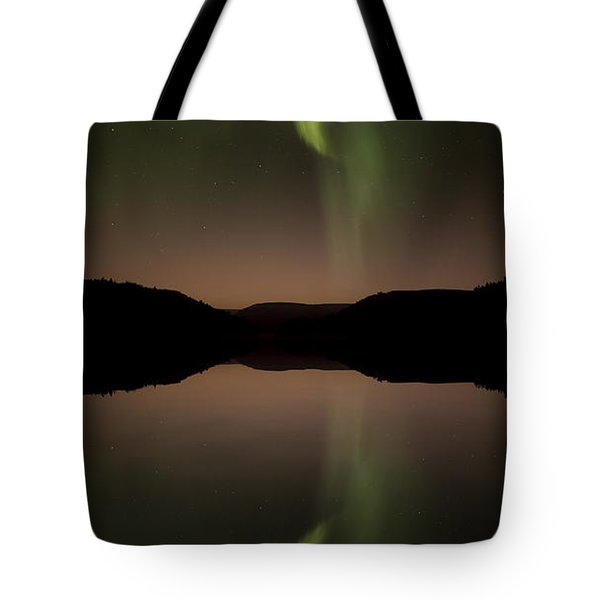 Aurora Reflection Tote Bag