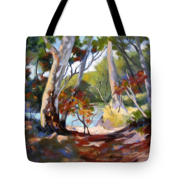 Australia Revisited Tote Bag by Rae Andrews