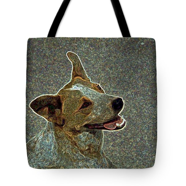 Australian Cattle Dog Mix Tote Bag by One Rude Dawg Orcutt