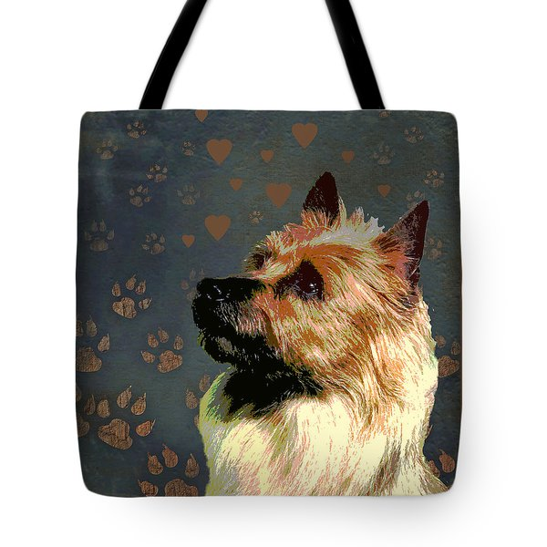 Australian Terrier Tote Bag by One Rude Dawg Orcutt