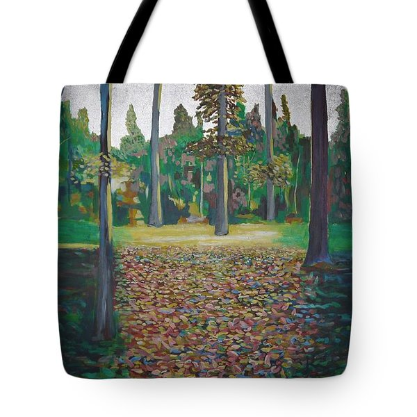 Autum Light Tote Bag by Jarle Rosseland