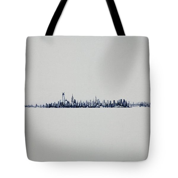 Autum Skyline Tote Bag