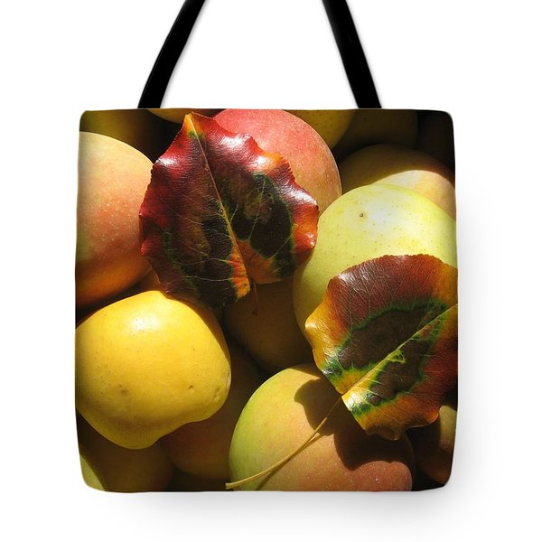 Autumn Apple Afternoon Tote Bag