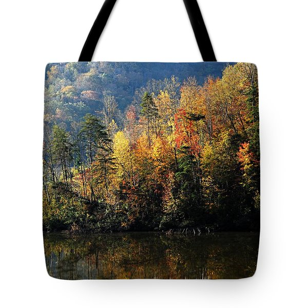 Autumn At Jenny Wiley Tote Bag
