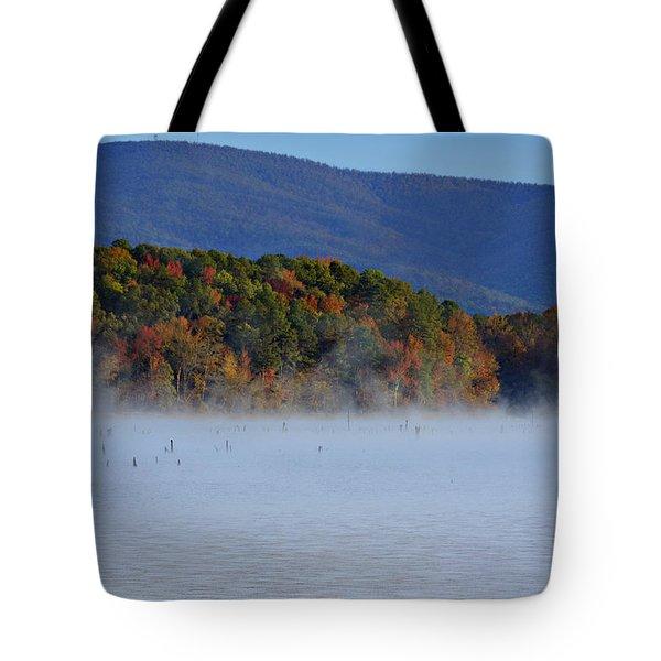 Autumn Backdrop Tote Bag by Douglas Barnard